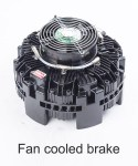 Fan cooled brake9